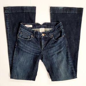 Banana Republic Classic Wide Leg Jeans Size 0